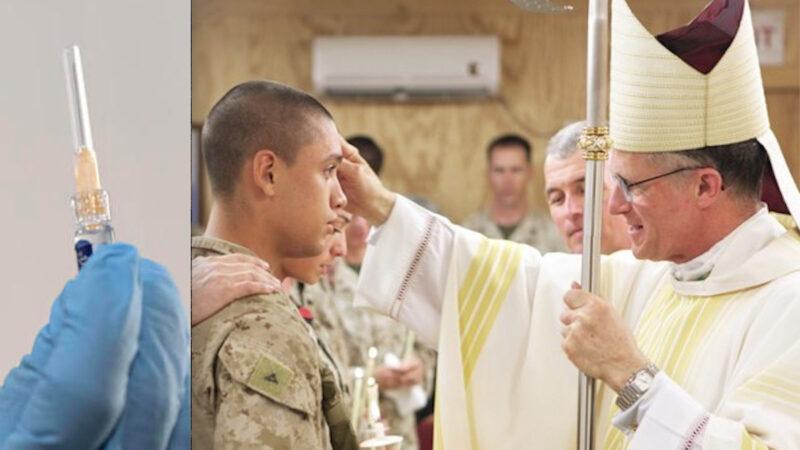 """""""NESSUNO SIA COSTRETTO A VACCINARSI"""". L'Arcivescovo dei Militari Usa li Difende e va contro la Linea Dura del Vaticano"""